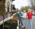 On November 20th, our volunteers placed 9 trees, 70 shrubs, and 12 cubic yards of mulch at Town Hall... 
