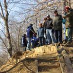 Frank Eggert describes Clay Hill's history as a railroad crossing of Mantua Creek.