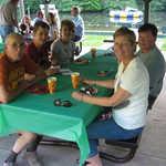 l-r: Frank Eggert, Scott & Brenda Birkland, Bonnie & Chuck Bell