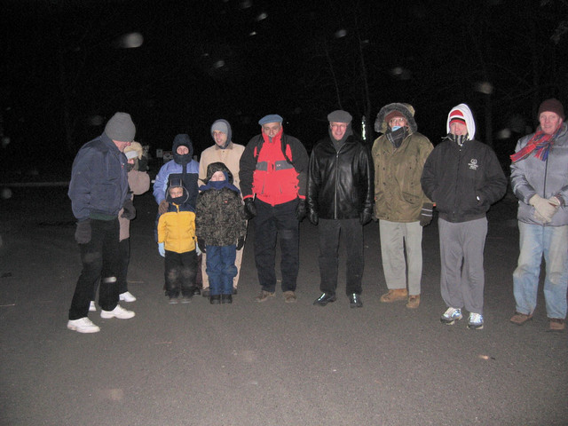 This intrepid group of hikers braved single-digit wind chills on the evening of January 20th to experience our trails under brilliant moonlight.