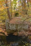 The remains of Greene's Lake Dam stand as a link to Wenonah's past.  The dam is said to have been destroyed by Hurricane Agnes in 1972.
