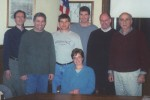 WEC Members as of January 2005: (l-r) Scott Barnes, Bill Schnarr, Brian Hayes, Paula Hayes, Dave Kreck, Bill Schramm, and Bob Bevilacqua. 